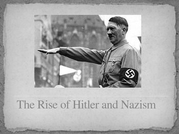 a history of world war two and hitler rise to power A community history wiki  the strategic goals of each of the major powers of  the second world war changed  still, many of the initial goals of the war were  driven directly by angst over the treaty of  before his national socialist party  came to power in 1933, adolf hitler wrote his political manifesto,.