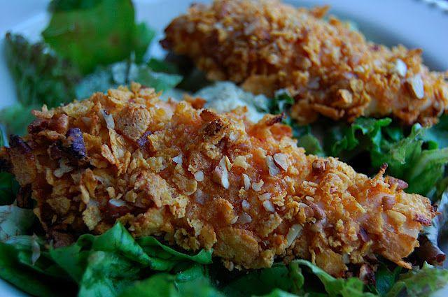 Savory Spicy Sweet: Honey-Pecan Crusted Chicken Tenders