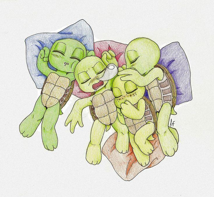 baby mutant ninja turtles by on