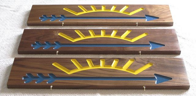 arrow of light plaques scouts pinterest. Black Bedroom Furniture Sets. Home Design Ideas