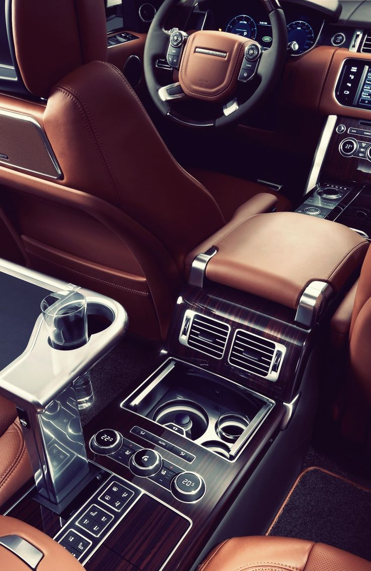 Pin by angel on luxury pinterest for Interior range rover
