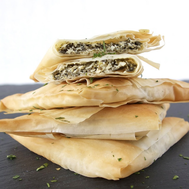 Spinach & Goat Cheese Turnovers recipe by Laura C Martin from The ...