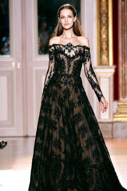 fashion style dress black
