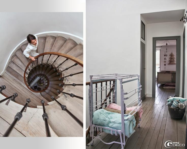 escalier demi tournant deco accueil design et mobilier. Black Bedroom Furniture Sets. Home Design Ideas