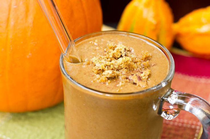 Pumpkin Gingerbread smoothie | Nutritional Smoothies | Pinterest