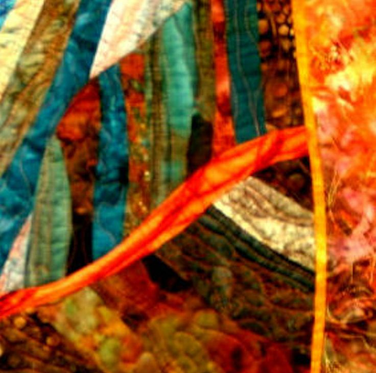 Pin by Nancy Proctor on Abstract Art Quilts | Pinterest