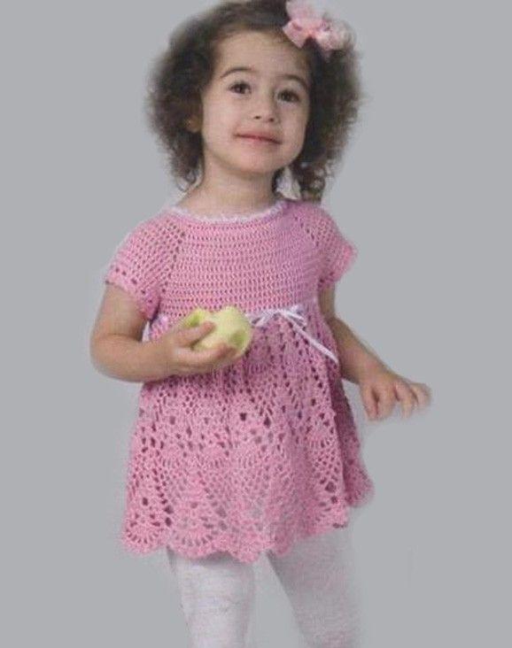 Pattern only. Laces crochet girls dress - Eva. Size: 2T-3T ...