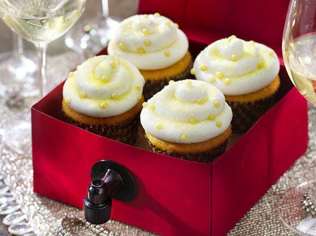 Try these Sauvignon Blanc Wine Cupcakes with Happy Bitch Sauvignon ...