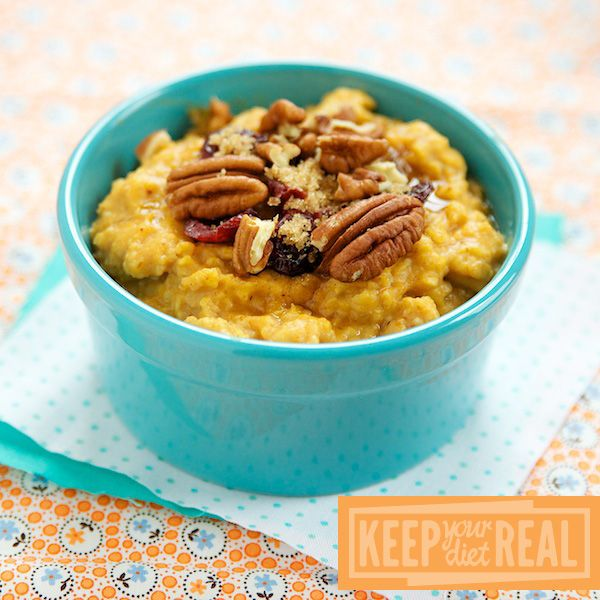 Pumpkin Spiced Oatmeal | Breakfast Never Sounded or Tasted so Good ...