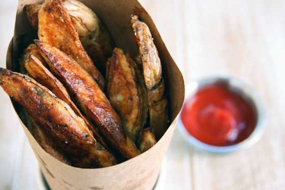 Perfect Oven Roasted Fries. How good is this?