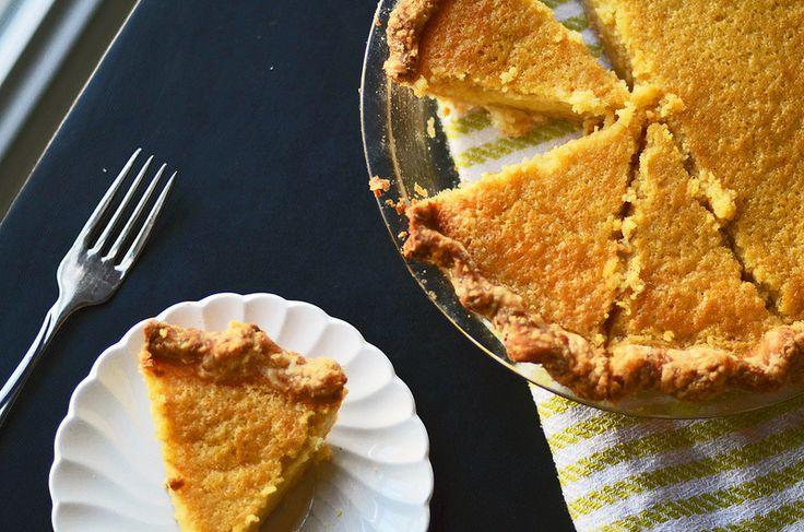 Buttermilk Lemon Chess Pie | Fork Vs Spoon | Pinterest