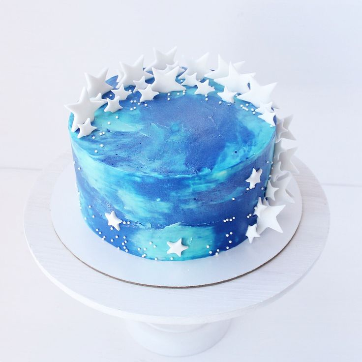 Как сделать космос торт 45