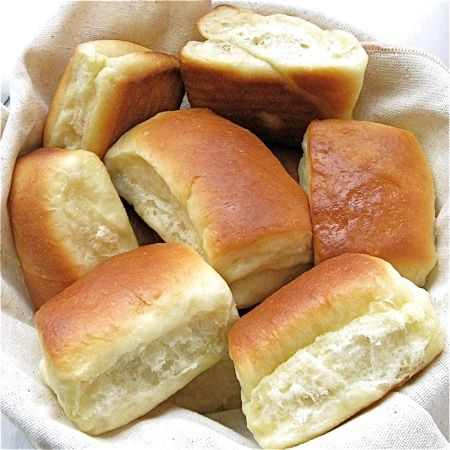 Parker House rolls - how to roll out and shape rolls - great pictures