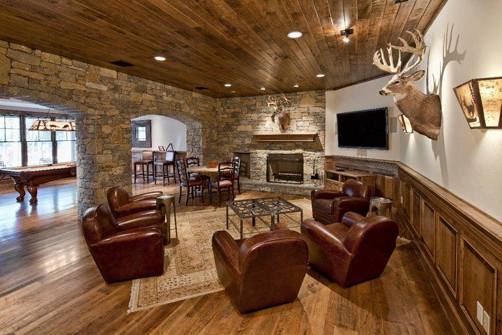 Deer Hunting Man Cave Ideas : Pin by bambi pappano on living rooms pinterest