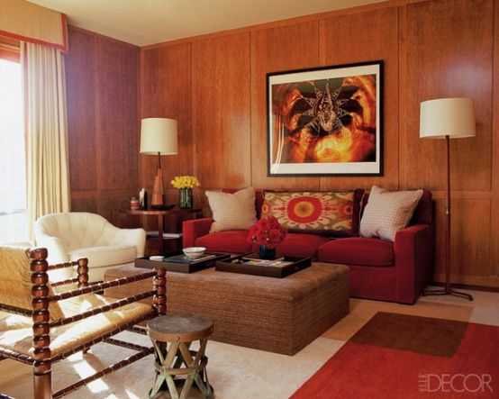 don 39 t paint the wood paneling designed w carla aston