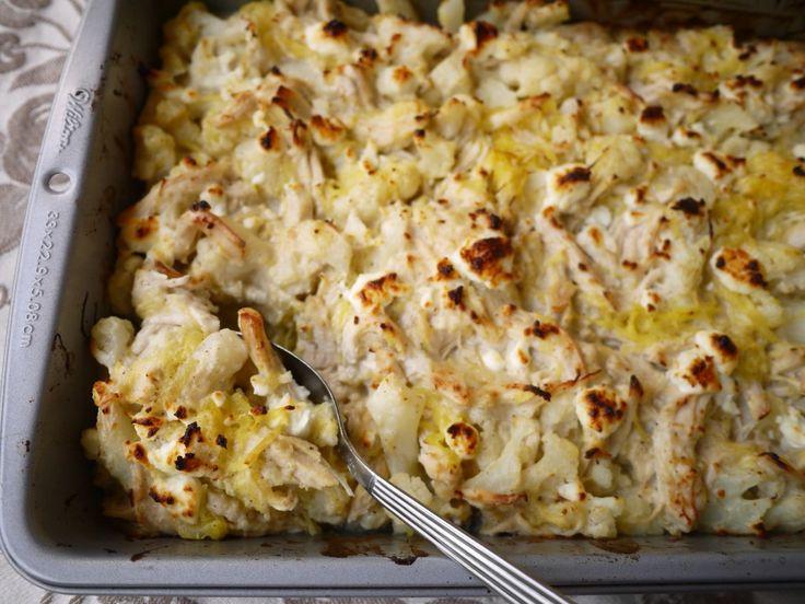 Creamy-Spaghetti-Squash-Chicken-Casserole-paleo-3
