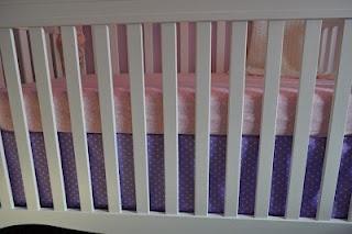 Crib skirt tutorial
