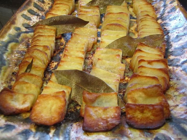 Roasted Domino Potatoes   Recipe