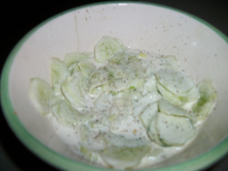 mint lime dressing refreshing cucumber salad with creamy mint dressing ...