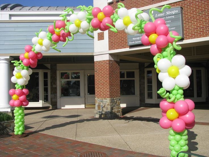 flower balloon arch google search balloons pinterest