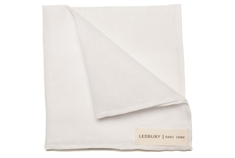 The White Linen | Commonwealth Collection: The Pocket Square Project