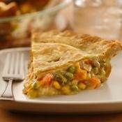 Impossibly Easy Chicken Pot Pie recipe from Betty Crocker
