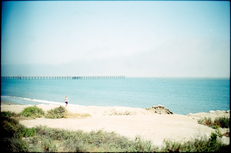 Unnamed Girl  May 27, 2012 Leica M7 Goleta Beach.