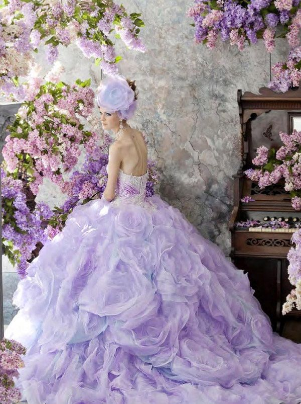 lilac colored wedding dresses 2 lilac lila lavender