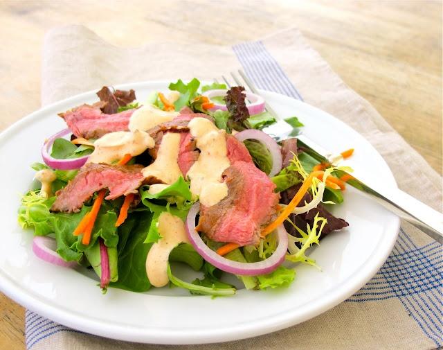Jenny Steffens Hobick: Summer Entertaining | Chipotle Steak Salad ...