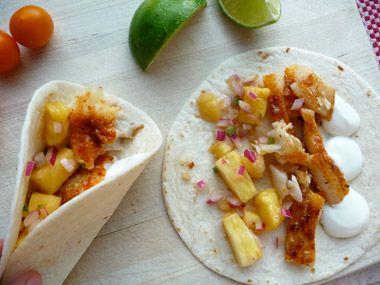 devil & egg fish tacos!
