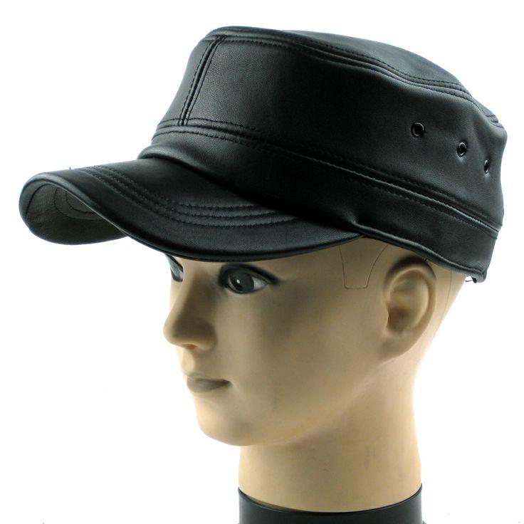 Leather Hat for Men | HATS, HATS, HATS | Pinterest