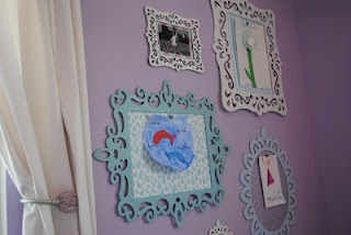 Super cute (and cheap) way to display kiddie art
