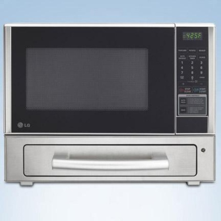 Countertop Microwave/Baking Drawer with 1,000 Watt Microwave Oven ...