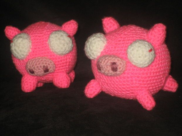 Crochet Invader Zim Patterns : invader zim piggies amigurumi pattern. crochet Pinterest