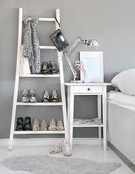 Ladders for shoes.