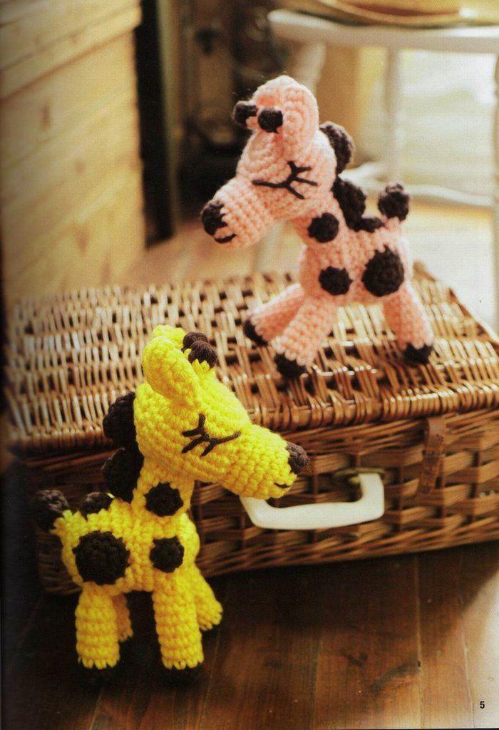 amigurumi free pattern giraffe Being Crafty - Crochet ...