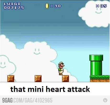 Mario brothers can be bad for your health.