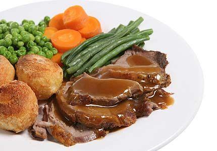 Roast lamb dinner | Lunch/Dinner | Pinterest