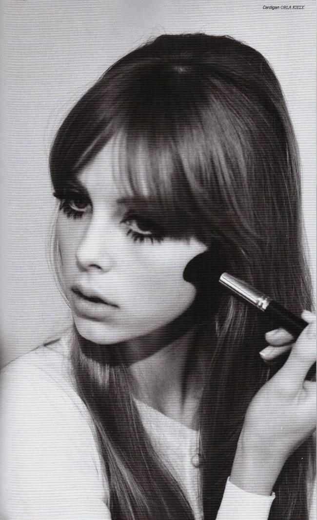 Vintage~esque. Retro 60s/70s look. Edie Campbell photographed by Jessie Lily Adams for Lula magazine, 2012
