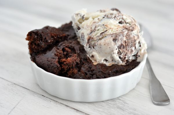 Mel's Kitchen Cafe | Hot Fudge Pudding Cake She claims it is her all ...