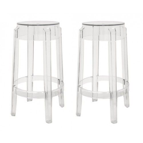 Clear Acrylic Ghost Stool For The Home Pinterest