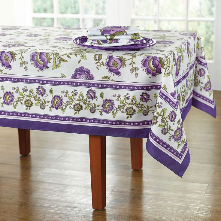 Purple table linens table linens brylanehome