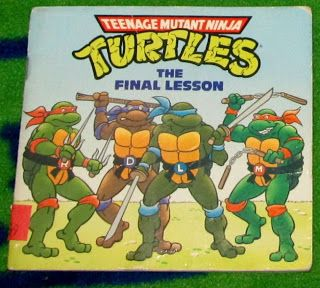 Teenage Mutant Ninja Turtles: The Final Lesson (Vintage) found at Goodwill for .99 cents.