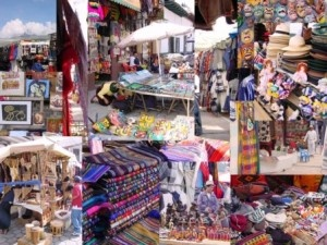 Otavalo market,Ecuador