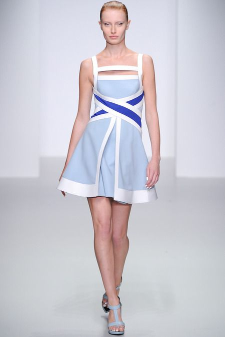 David Koma Spring 2014 Ready-to-Wear Collection #LFW