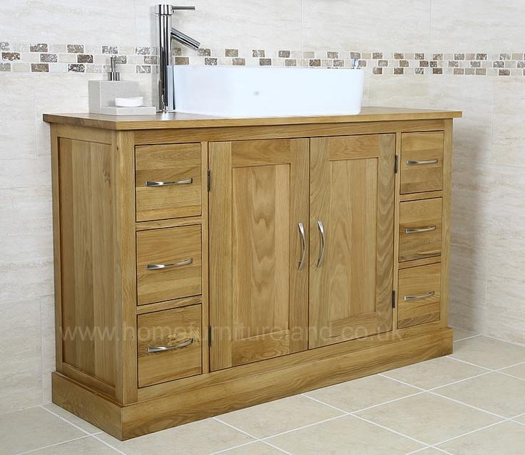 Vanity Units Light Oak : Light Oak Bathroom Vanity Unit Bathroom Pinterest