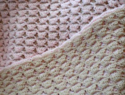 free pattern: vintage fan ripple blanket - a creative being