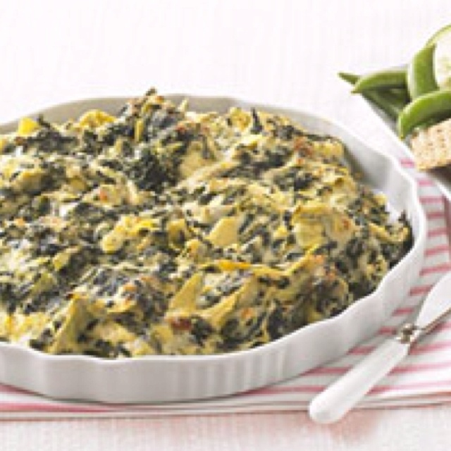 Easy Spinach Artichoke dip | Party food | Pinterest