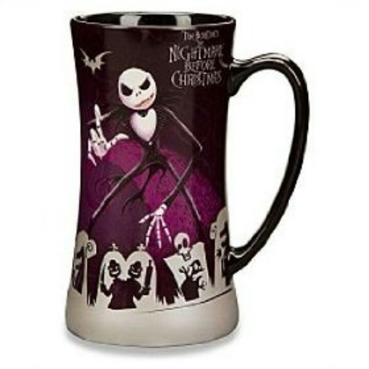 Nightmare Before Christmas mug, id llove to dring tea or coffee in ...