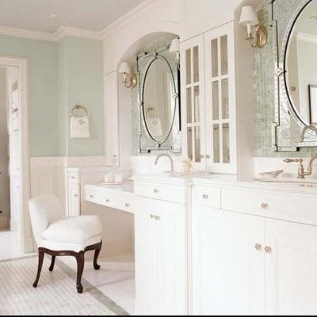 Vanity Station In Pretty Bathroom Finishes Pinterest